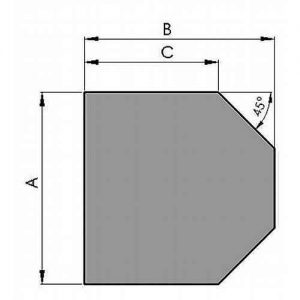 4836_500_gulvplade_glas_sekskant_6mm