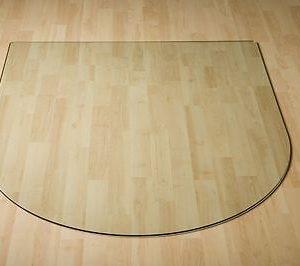 Glasbodenplatte-Rundbogen-120-x-120-Facette-Funkenschutz-Kamin