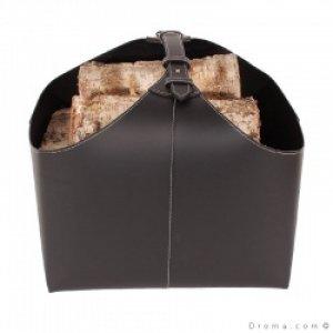 brændekurv ørskov sort læder