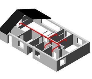 varmeflytning 3 rum